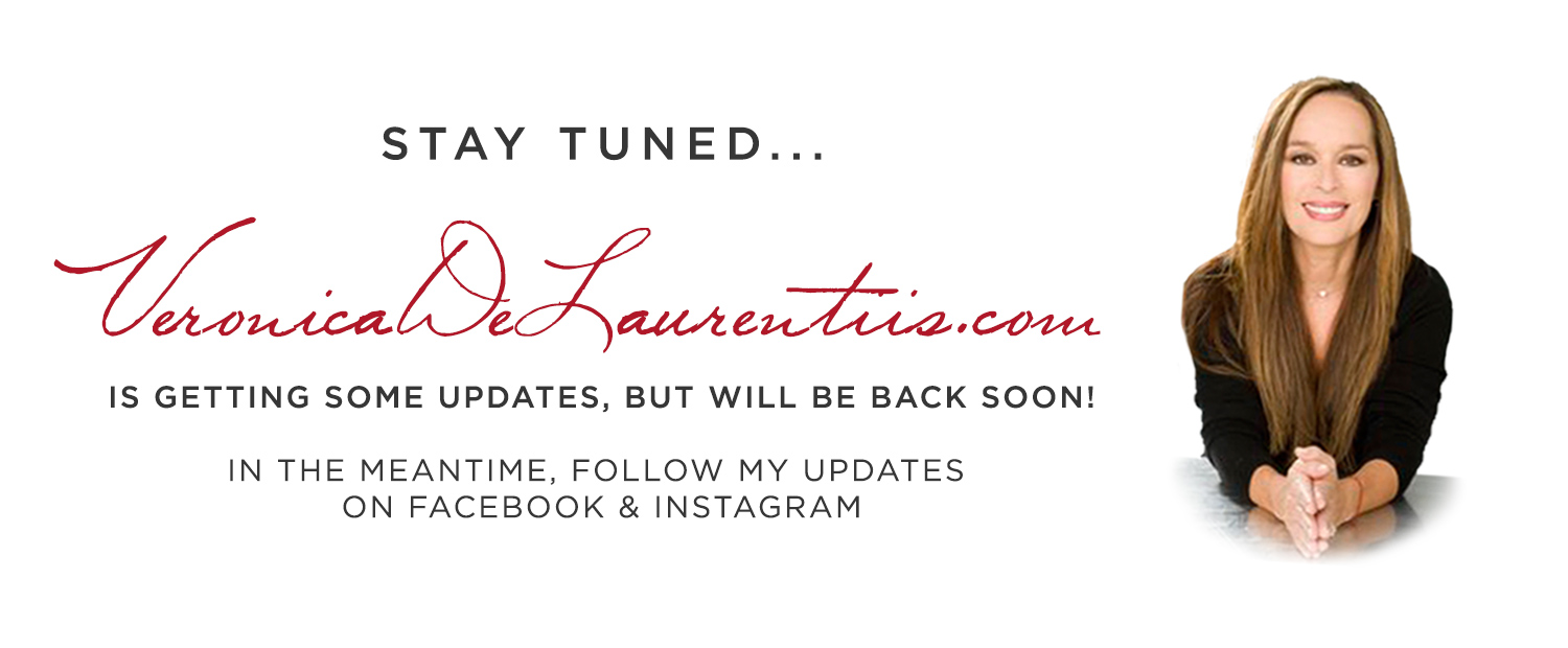 Veronicadelaurentiis.com is under construction